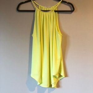 Lush Neon Yellow Blouse